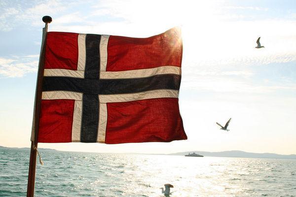 Den norska flaggan