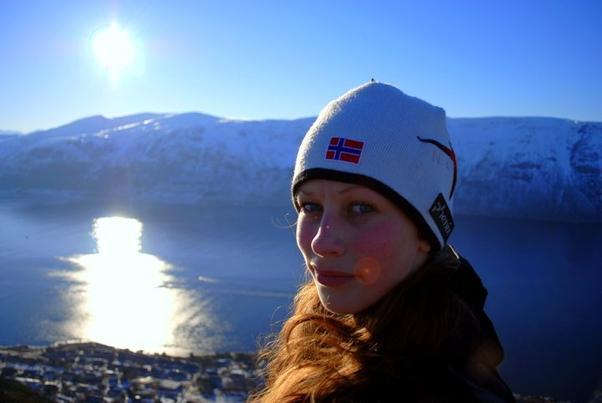 """""""Jag älskar den norska naturen"""""""