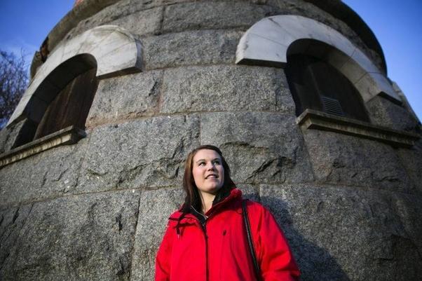 Matilda fick ett unikt lärlingsjobb i Norge
